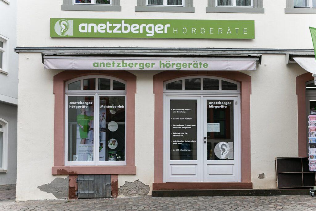 Anetzberger Hörgeräte - Ihr Hörakustik-Experte in Karlstadt.